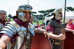 Birth Of Rome Festival 2015 - stock photo