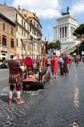 Birth Of Rome Festival 2015 - stock photo