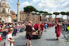 Stock Photo of Birth Of Rome Festival 2015