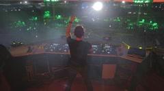 dj AFP Festival 02 - stock footage