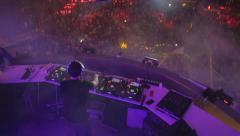 dj AFP Festival 03 - stock footage
