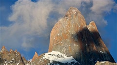 Stock Video Footage of Fitz Roy