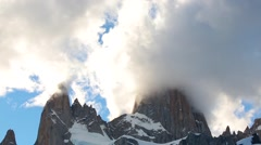 Stock Video Footage of Mountains Fitz Roy