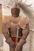 Old rusty armor Stock Photos