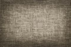 Linen fabric texture in vintage style as a background Stock Photos