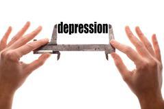 Small depression Stock Illustration