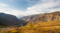 Autumn Mountain Stock Footage