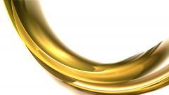 Flowing Energy, Elegant Golden Motion Stock Footage
