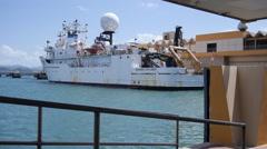 NOAA Research Ship Okeanos Explorer 2 Stock Footage
