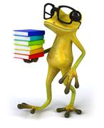 Stock Illustration of Fun frog