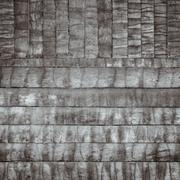 Brown wood log wall texture background Stock Photos