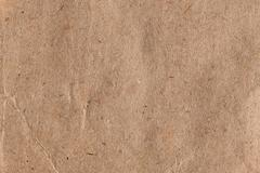 Brown paper with fibers Stock Photos