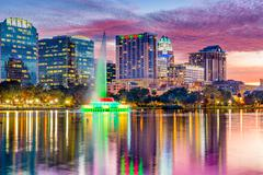 Orlando, Florida Skyline Stock Photos