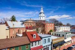 Annapolis Maryland Cityscape - stock photo