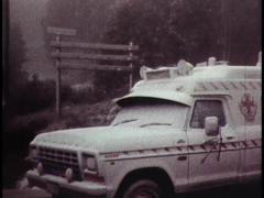 HEAVY SNOWFALL MELBOURNE (Archive Footage) 1980s - stock footage