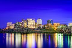 Arlington Skyline - stock photo
