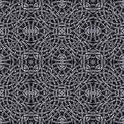 Arabesque Geometric Seamless Pattern - stock illustration
