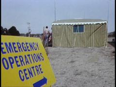 AFTERMATH OF BUSHFIRES / EMERGENCY ASSISTANCE (1983) - stock footage