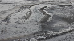 Stock Video Footage of pollution by ashes
