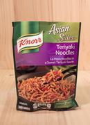Teriyaki noodles Stock Photos