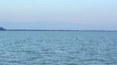 Balaton panorama Stock Footage