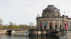 Bode museum, Berlin Stock Footage