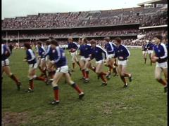 Stock Video Footage of Australian Football & Police (Archive Footage)