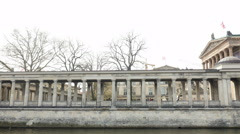 Berlin historical architecture Stock Footage