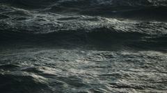 STORMY SEA SLOWMOTION Stock Footage