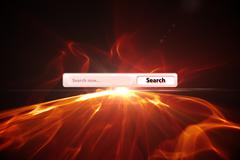 Stock Illustration of Composite image of search engine