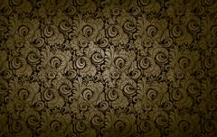 Stock Photo of golden victorian vintage background