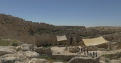 Herodium Herods palace 4K.mp4 Stock Footage