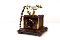 Vintage Phone - stock illustration