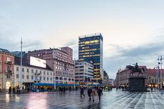 Stock Photo of Ban Jelacic Square