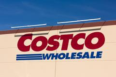 Stock Photo of Costco Wholesale store exterior