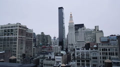 New York buildings Stock Footage