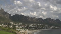 Camps Bay,Cape Town.Time lapse Stock Footage