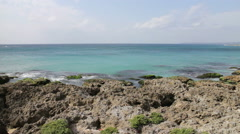 Taiwan Kenting National Park Seascape. HD - stock footage
