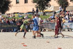 Rome's Foundation Anniversary 2015 Stock Photos