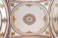 Laleli Mosque Ceiling Painting Stock Photos