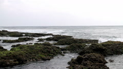 Taiwan Kenting National Park Seascape. HD Stock Footage