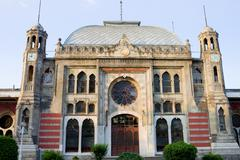 Orient Express Station in Istanbul - stock photo