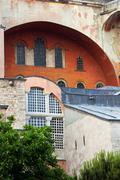 Hagia Sophia Byzantine Architecture - stock photo