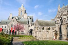 Christ Church Cathedral in Dublin Stock Photos