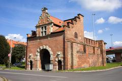 Zulawska Gate in Gdansk - stock photo
