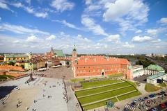 Old Town in Warsaw Stock Photos