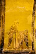 Guardian Angel Byzantine Art Stock Photos