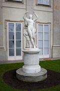Bachantka Statue in Lazienki Krolewskie Stock Photos