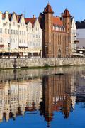 Straganiarska Gate in Gdansk Stock Photos