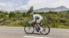 The Cyclist Julien Simon - Tour de France 2013 - stock photo